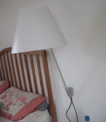 Wall light, list price £225, for sale £110 each, 2 available